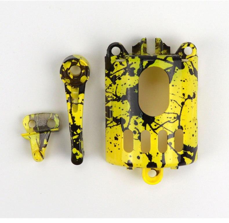 Diy modificado escudo para wahl inkjet camuflagem
