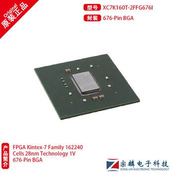 Nowa oryginalna xc7k160t-2ffg676i programowalna bramka 676bga xc7k160t tanie i dobre opinie CN (pochodzenie) Nowy Układy scalone logiczne Komputer standard 100TQFP
