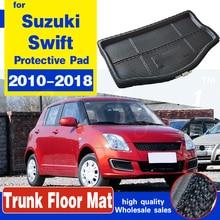 Коврик для багажника Suzuki Swift 2010-2018, коврик для багажника автомобиля, коврик для багажника, напольный коврик, протектор, коврик, аксессуары, во...