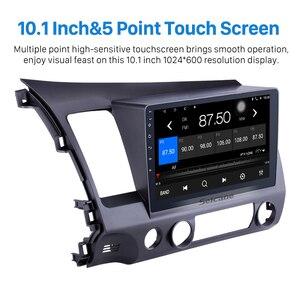 Image 4 - Seicane 10,1 zoll Android 10,0 Auto Stereo GPS Radio Multimedia Player für Für Honda Civic 8 2005 2006 2007 2008 2009 2010 2011