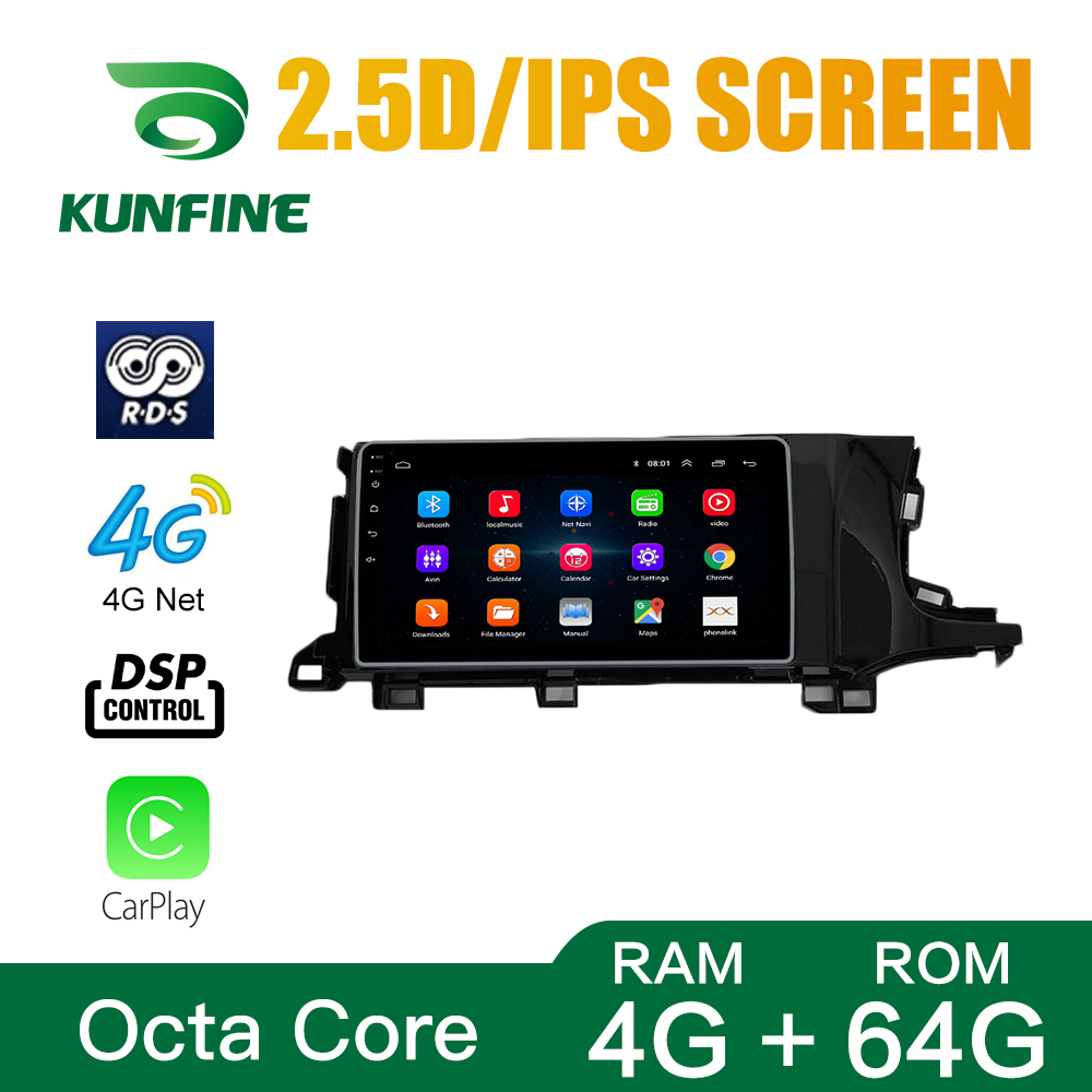 Octa Core Android 10.0 Car DVD GPS Navigation Player Deckless Car Stereo For Honda Shuttle RHD Radio Headunit Wifi