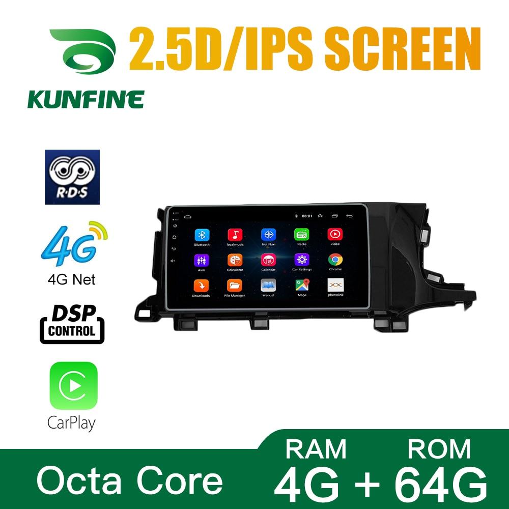 Octa Core Android 10.0 Car DVD GPS Navigation Player Deckless Car Stereo For Honda Shuttle RHD Radio Headunit Wifi