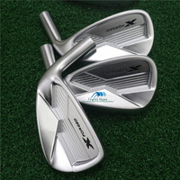 golf clubs X Forged golf irons set 3-9.P(8pcs) garphite or steel shaft with headcove