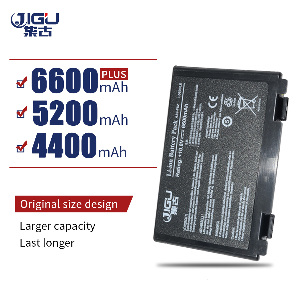 JIGU 6Cells Laptop Battery For Asus K40ab K40in K40ij K40ad K50ij K50in K50id K50af K51ac K51ae K51ab K60ij K61ic K70ab