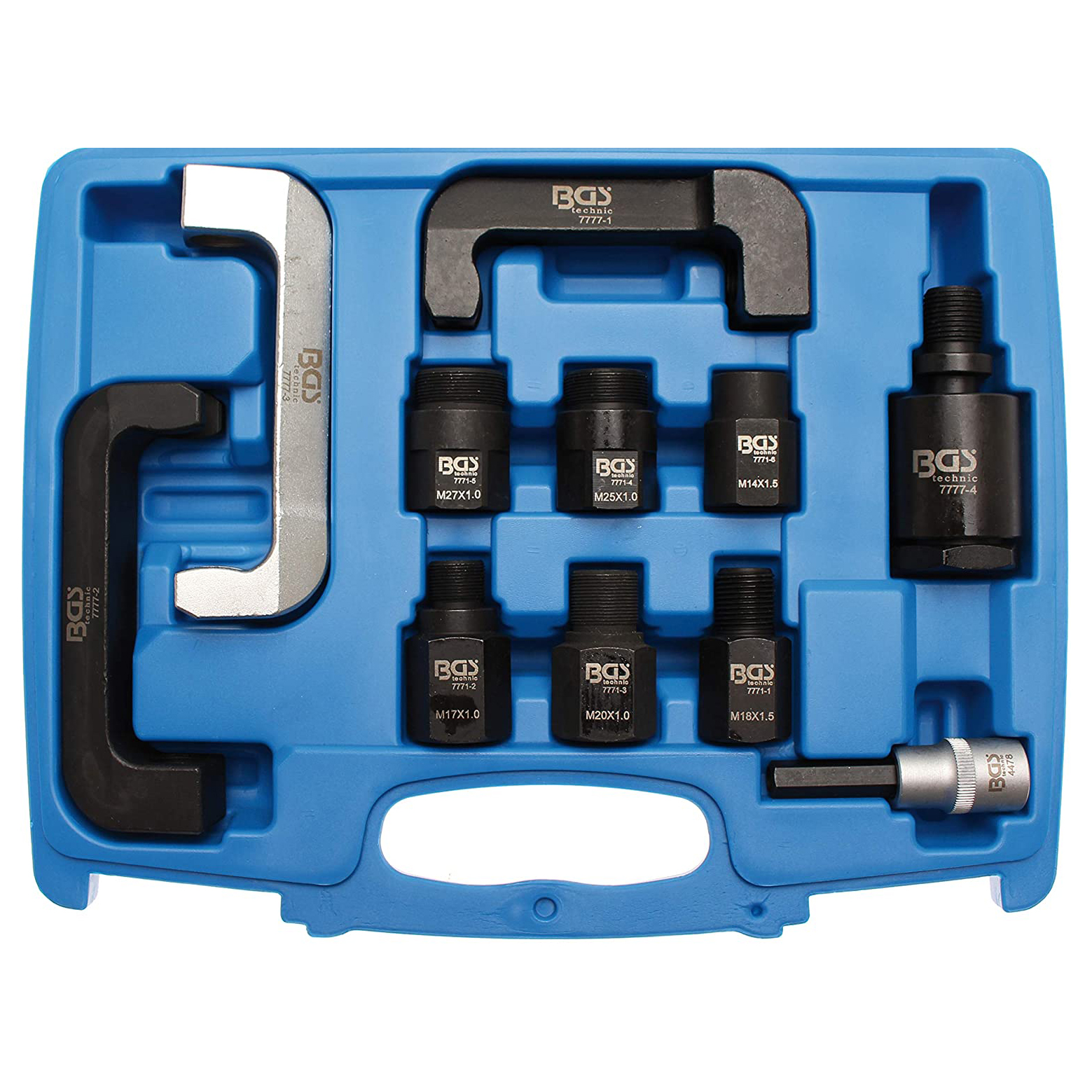 10Pcs Diesel Injector Removal Set For JTC MERCEDES BENZ  Removal Adapter Tool Set Kit