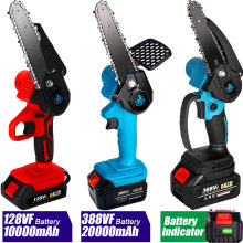 Electric Pruning Saw Battery Portable For Makita Battery-Capacity-Indicator Wood Cutting