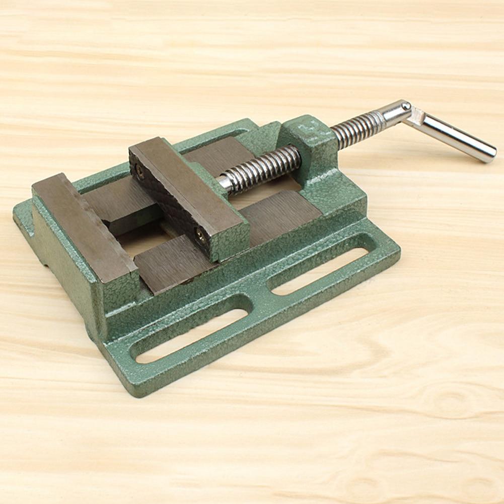 pinças plana vise máquina de perfuração suporte