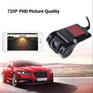 Image 5 - كامل HD 720 P سيارة كاميرا DVR السيارات والملاحة مسجل داش كاميرا G استشعار أداس الفيديو