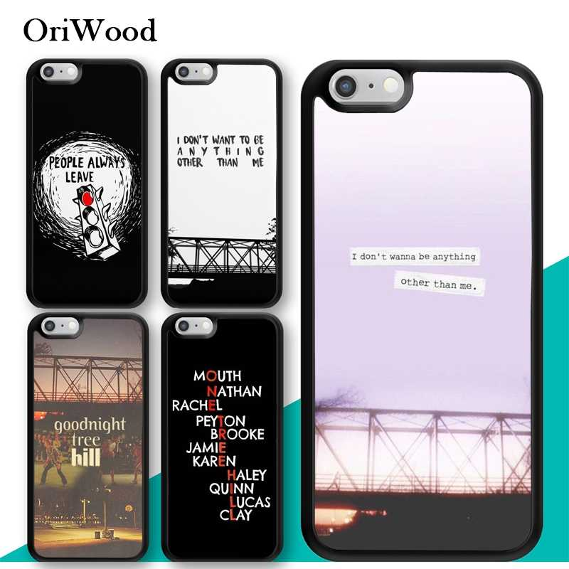OriWood One Tree Hill TV Series Caso de Telefone Celular Para O iPhone Da Apple X XR XS MAX 8 7 Plus 6 6s 5 5S SE Caso PC TPU Tampa Traseira Capa