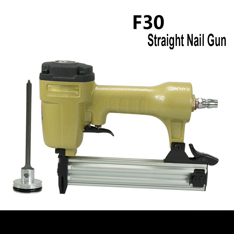 Air Nail Gun Straight Nail Gun Pneumatic Nail Gun Staple Book Machine Order Steel Nails Nail Nails