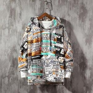 Image 3 - SingleRoad Mens Hoodies 2020 Frühjahr Übergroßen Japanischen Streetwear Sweatshirt Hip Hop Harajuku Sweatshirts Männlichen Anime Hoodie Männer