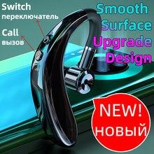 سماعة بلوتوث لاسلكية سماعة أذن السيارات الاقتران ترقية مع IPX5 مقاوم للماء HD دعوة الأعمال سماعة ل Intkoot