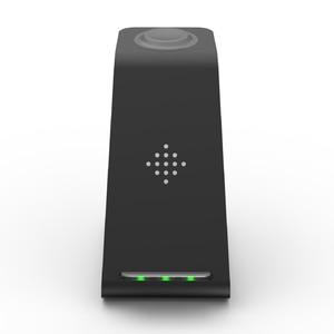 Image 5 - 3 in 1 10W 빠른 무선 충전기 아이폰 11 프로 X 충전기 도킹 스테이션 애플 시계 4 5 Airpods 무선 충전기 스탠드