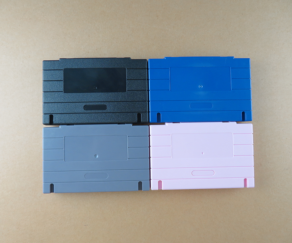 OCGAME US Japan Version Game Cartridge Card Plastic Shell For SNES SFC Game Console Card 16bit Game 3 Kinds Of Colors Available