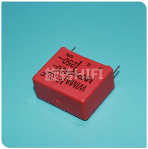 Image 2 - 4PCS RED WIMA MKP10 2U2 400V p27.5mm original new MKP 10 225/400V audio 2200nf 2.2UF film 225 PCM22.5 hot sale 2.2uf/400v