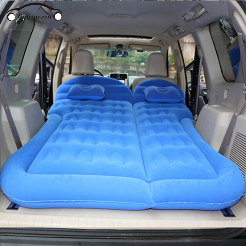Inflatable car mattress SUV Inflatable Car Multifunctional Car inflatable bed  car accessories inflatable bed travel goods 1