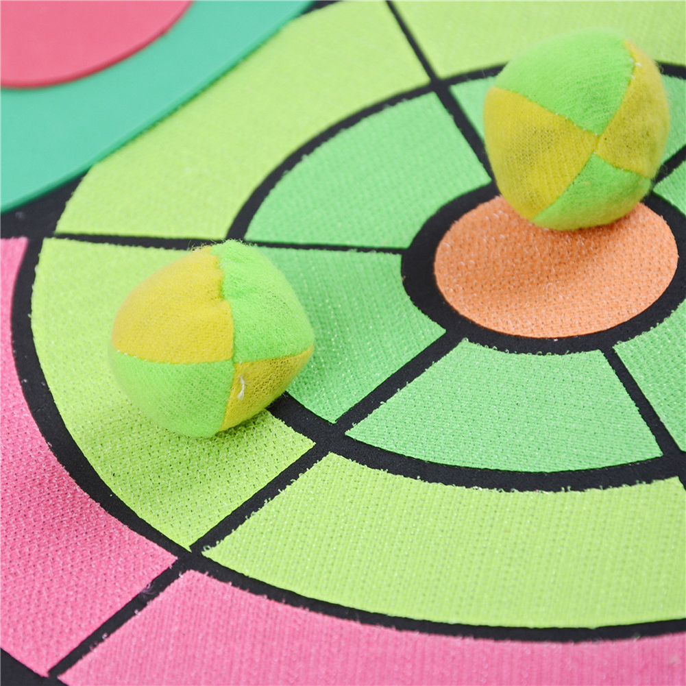 2019 Sticky Ball Darts Board Family Lawn Game Toys For Children Kids Sandbags Throwing Indoor Outdoor Parent-child Interaction