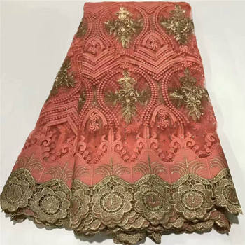 2020 Latest Nigerian French Swiss Voile Lace In Switzerland For Party New Design African Guipure Laces Fabric