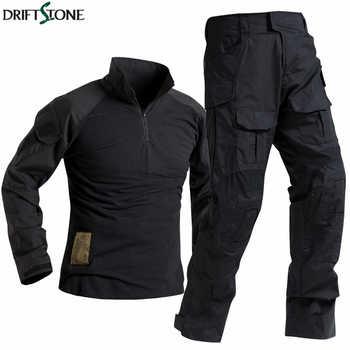 Forces spéciales soldat costume tactiques Airsoft Militaire Camouflage tactique Militaire uniforme hommes chemise de Combat pantalon