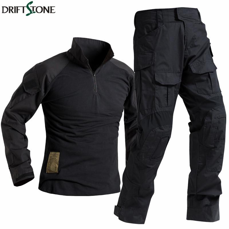 Special Forces Soldier Suit Tactics Airsoft Militaire Camouflage Tactical Military Uniform Men Combat Shirt Pants