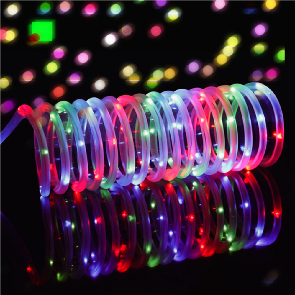 50//100LED Solar Powered String Fairy Lights Rope Patio Christmas Outdoor Garden