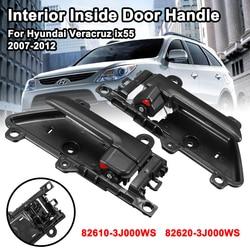 Przedni tylny lewego prawego wnętrza samochodu wewnętrzna klamka do drzwi dla Hyundai Veracruz ix55 2007-2012 82610-3J000WS 82620-3J000WS