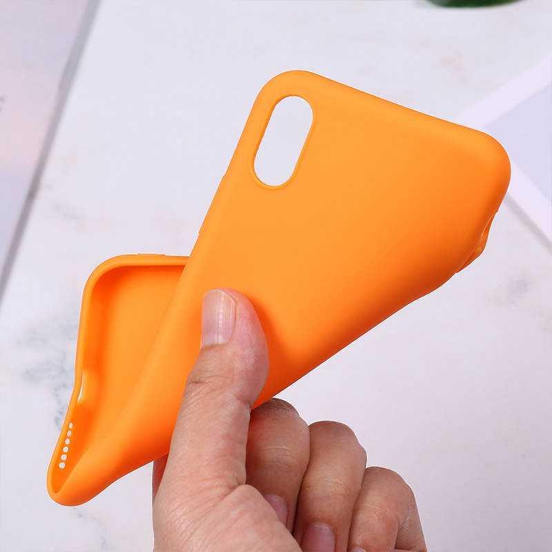 Silikonowe Etui do iPhone 11 Pro Max Case miękka pokrywa tylna z tpu matowy kolor Etui na telefony dla iPhone 6 7 8 Plus 6S XS Max XR X Etui