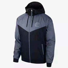 Inter Milan Football Uniform Men's Sports Trench Coat 919578-010