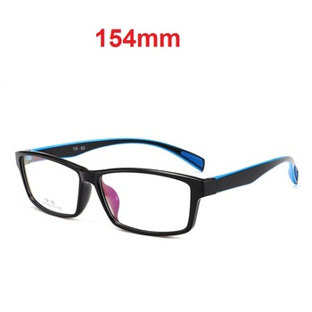 CUBOJUE 154mm Oversized Glasses Frames Men Women TR90 Eyeglasses Man Prescription Spectacles Sports Style Fashion Clear Lens