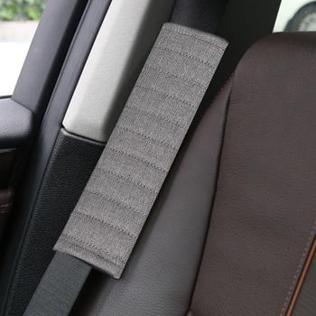 2 sztuk nakładka na pas bezpieczeństwa dorosłych młodzieży fotelik samochodowy dla dzieci pas obejmuje oddychający pas bezpieczeństwa nakładka na pas bezpieczeństwa dla Auto ciężarówka SUV tanie i dobre opinie MOJOYCE CN (pochodzenie) 26cm Polyester Fiber Pasy bezpieczeństwa i wyściółka Car Seat Belt Seat Belt Accessories