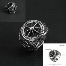 Men's Stainless Steel Ring          Titanium steel skull ring        Stainless steel anchor ring stainless steel
