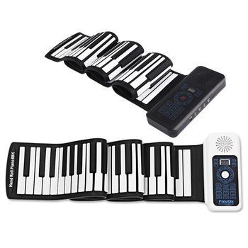 Piano Foldable 88 Keys Flexible Soft Electric Digital Roll Up Piano Keyboard