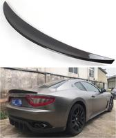 Alta Qualidade da FIBRA DE CARBONO ASA TRASEIRA TRONCO SPOILER PARA Maserati Gran turismo GT GTS 2008-2015