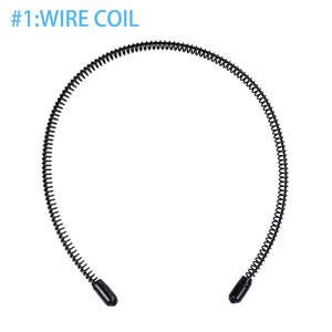 Lightweight Fashion Men Headband Accessories Wire Coil Iron Pigtail Invisible Hair Hoop Portable Washing Face Outdoor Sports