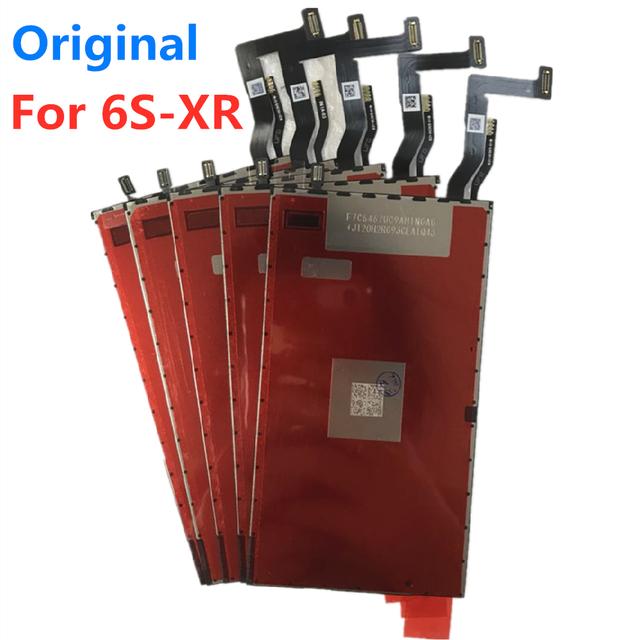 20 قطعة/الوحدة الأصلي LCD ثلاثية الأبعاد اللمس الخلفي ضوء فيلم آيفون XR 6s 6sp 7 8 8P 6 plus الخلفية إصلاح استبدال