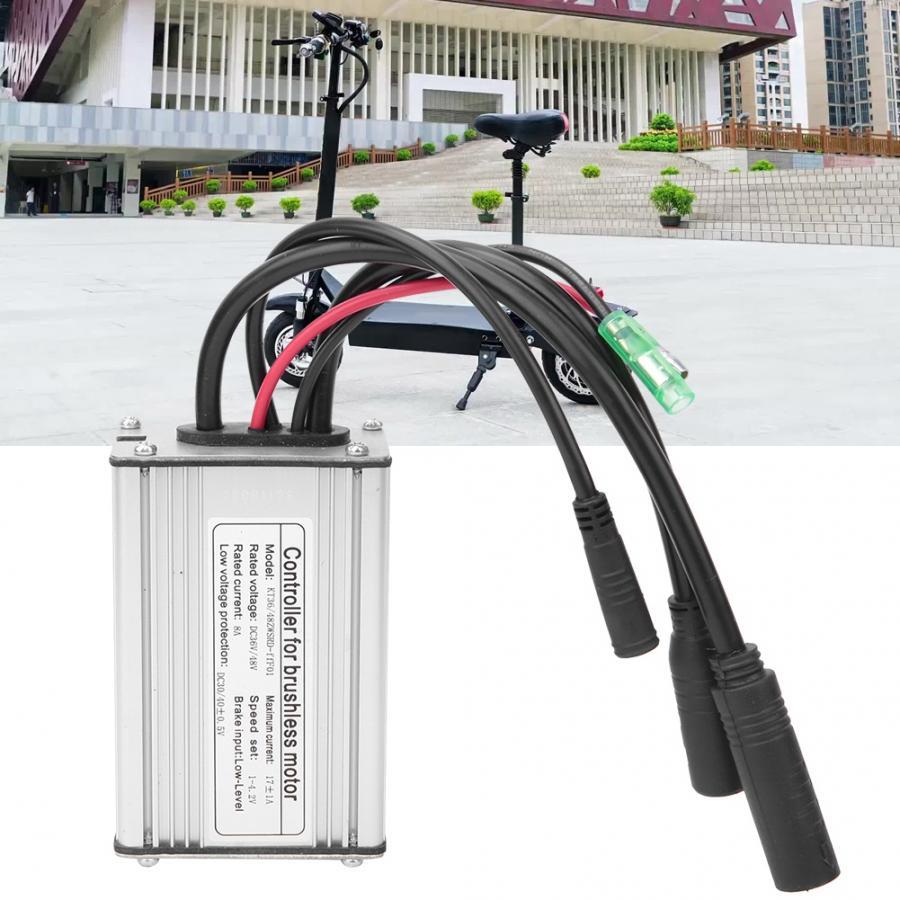 E-Bike Controller Brushless Waterproof Adapter For 36V48V Electric Scooter Motor