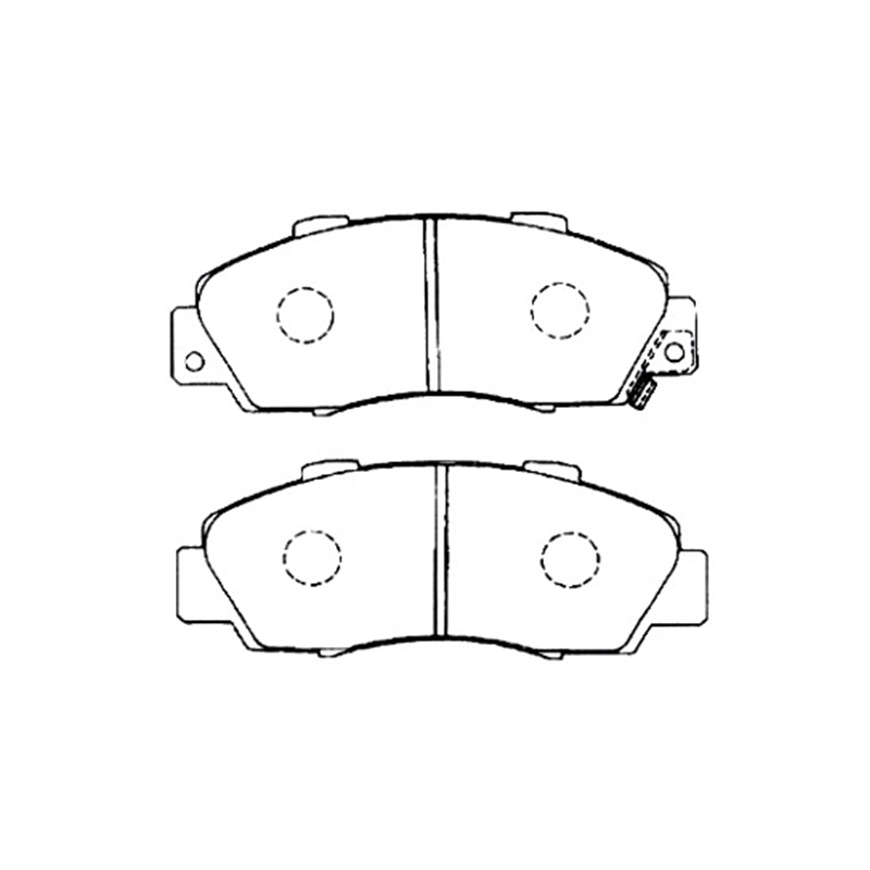 AKEBONO pads brake disc front FIT FOR HONDA ACCORD V, CR-V I AN-358WK yellow v neck long sleeves crossed front design sweater