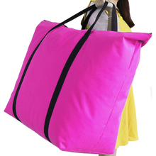 Pouch Luggage-Organizer Waterproof Storage-Bags Quilt Packing-Case Weekend Opening Large