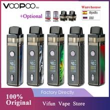 VOOPOO VINCI Mod Pod Vape комплект с аккумулятором 1500 мАч и 5,5 мл Pod и 0,96 дюймов TFT цветной экран Vape комплект Vs Vinci X/Drag 2