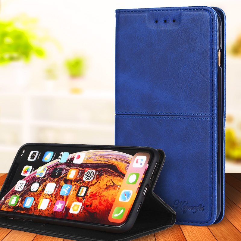 For <font><b>Sony</b></font> <font><b>Xperia</b></font> <font><b>10</b></font> II Plus XZ XZS Luxury Business Leather <font><b>Case</b></font> Flip Wallet Card Slots Stand Phone <font><b>Cover</b></font> Coque Capa image