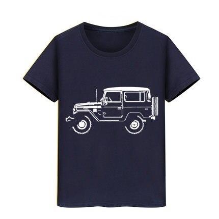 Boy Girl Blouse T-shirts Kids Tops Teeshirts Adventure All Terrain 4X4 Land Jeep Tshirt BJ40 FJ40 Land Cruiser Children T Shirt