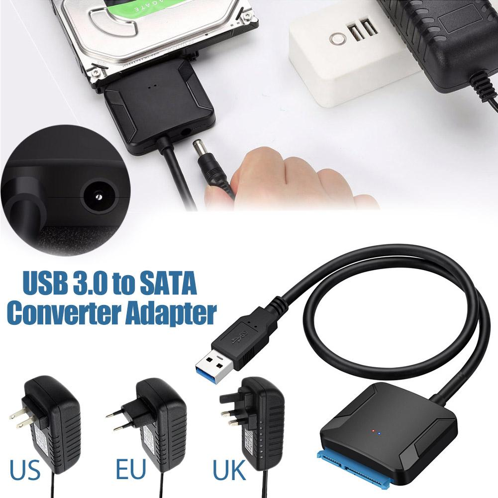 USB 3.0 To Sata Adapter Converter Cable USB3.0 Cable Converter For Samsung Seagate WD 2.5 3.5 HDD SSD Adapter