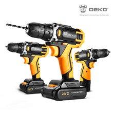 DEKO 12/16/20V MAX Perceuse-visseuse électrique sans fil,18 + 1 réglages de couple,2 vitesses, Mandrin sans clé 3/8