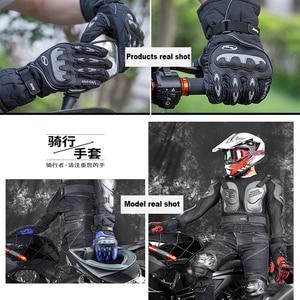 Image 2 - Koop Nieuwe Motorhandschoenen Winter Warm Waterdicht Handschoen Outdoor Sport Ski Skate Handschoenen Motorbiker Motocross Racing Riding Bike