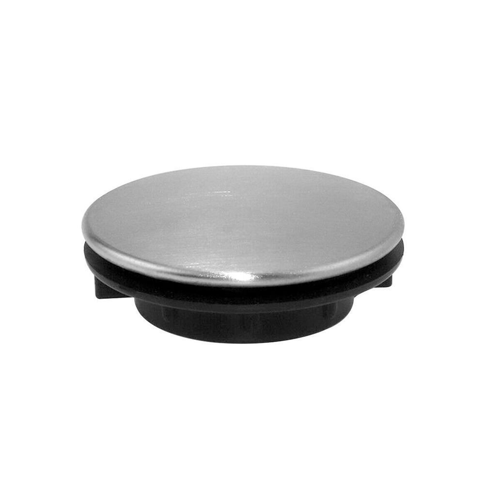 Stainless Steel Sink Water Stopper Cover Soap Dispenser Cover Kitchen Plug Hole Washbasin Anti-leakage Hole Sink Faucet Plu Z0C4