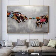 Граффити ручной картина маслом на холсте Современные абстрактные