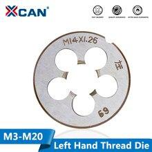 A linha métrica da máquina da mão esquerda de xcan 1pc morre a máquina da linha do parafuso metalúrgico morre m3 m6 m8 m10 m12 m14 m16 m18 m20