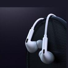 Com fio fone de ouvido in ear fones de ouvido com microfone com fio esporte música estéreo super bass fone de ouvido de alta fidelidade