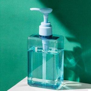 Image 5 - 100,150,280ml Trasparente Riutilizzabile Barattolo Vuoto Portatile della Bottiglia di Emulsione di Plastica Contenitore di Viaggi Shampoo Liquido Trasparente
