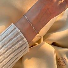 S925 srebro francuski musujące Galaxy bransoletka kobiety Pavé kryształ światła luksusowe Temperament dziewczyny Party biżuteria prezent